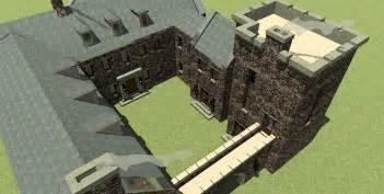 castle house plans scottish highland castle 44071td 2nd floor master