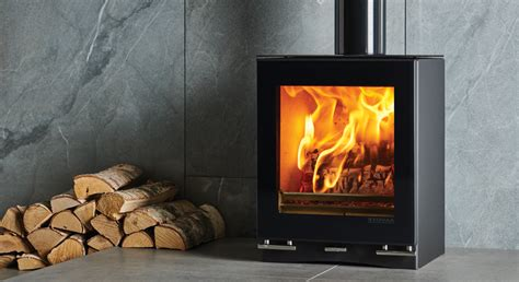 Small Wood Burning Fireplaces by Stovax Vision Small Charlestown Wood Burners