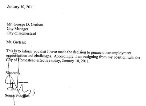 resignation letter samples with reason sample employee termination