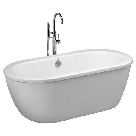 how to get bathtub white cadet freestanding tub american standard