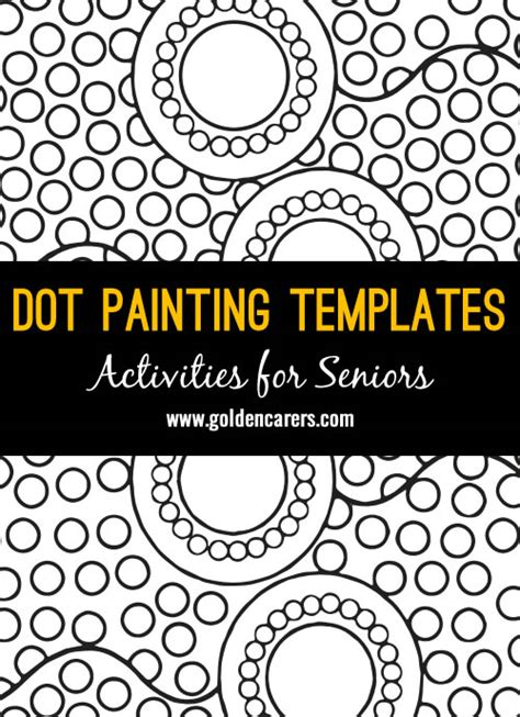 aboriginal dot templates for indigenous australian dot paintings