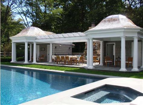 pool house design the enchanted home