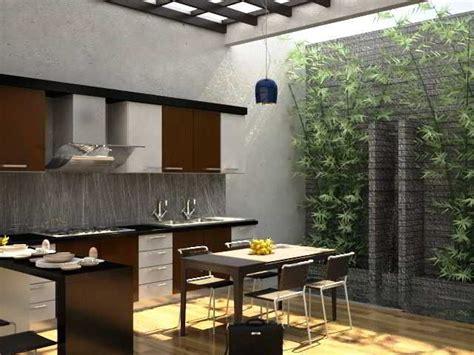 design dapur minimalis menghadap taman 26 best desain dapur terbuka semi outdoor menghadap