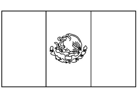 Mexican Flag Coloring Pages mexican flag coloring page nuttin but preschool