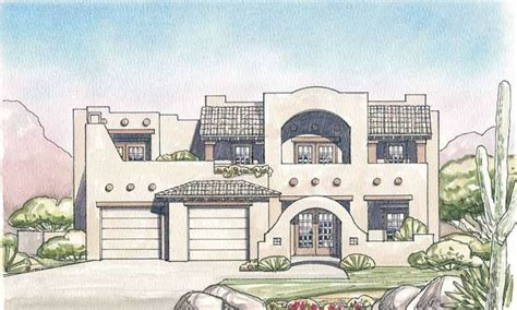 adobe house plans with courtyard eplans adobe house plan courtyard 3138 square and 5 bedrooms s from eplans