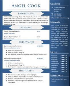 creative sample resume templates