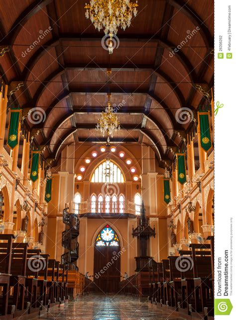 christianity church  thailand stock photography image