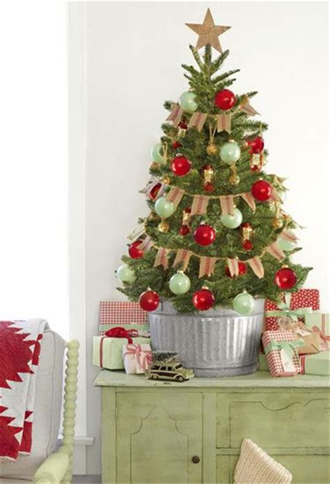 stunning potted christmas tree decoration ideas