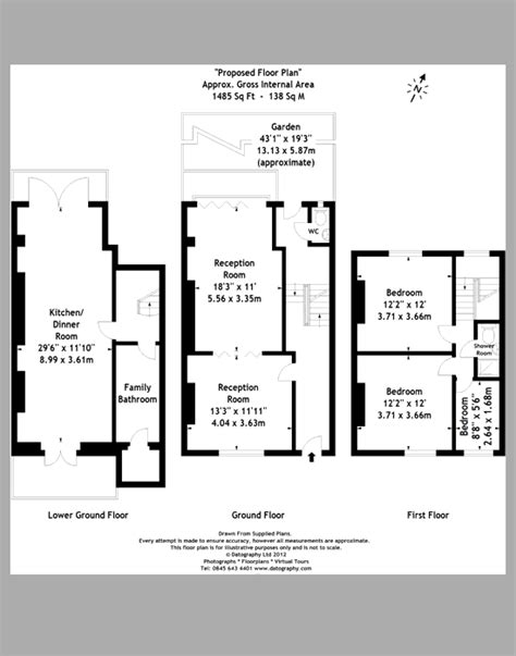 terraced house floor plan terraced house plans uk