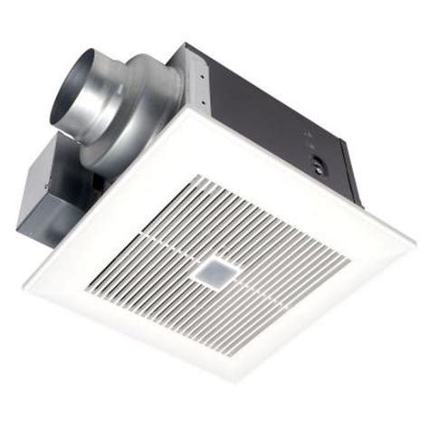 Bathroom Fan On All The Time Panasonic Whispersense 80 Cfm Ceiling Humidity And Motion