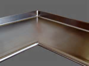stainless steel countertop custom