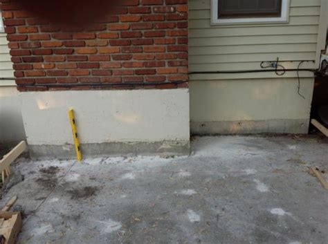 Do It Yourself Concrete Patio by Sunken Concrete Patio What To Do Doityourself