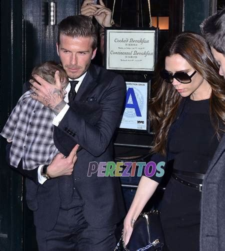 Proof Beckham Does Not Eat by The Beckhams Take To A Fancy Restaurant Perezitos