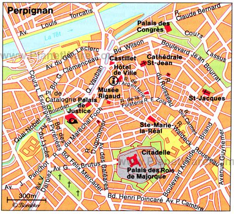 perpignan map 18 top tourist attractions in languedoc roussillon
