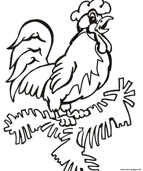 free rooster pictures to print farm animal coloring pages farm animal s rooster pic38aa coloring pages printable