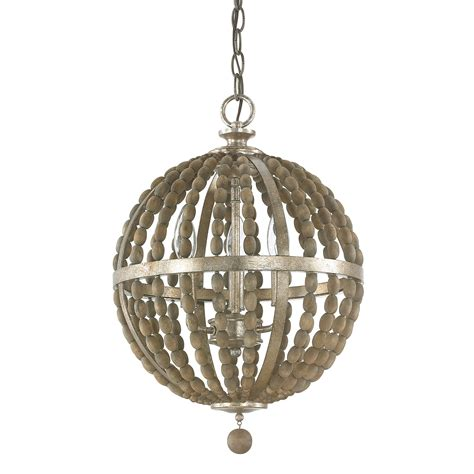Tuscan Pendant Lights Capital Lighting Fixture Company Lowell Tuscan Bronze With Wood Three Light Pendant On Sale