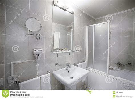 Bathroom Or Washroom Or Restroom Interior Of A Modern Hotel Bathroom Stock Photo Image