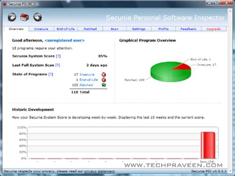 programs secunia download secunia personal software inspector psi