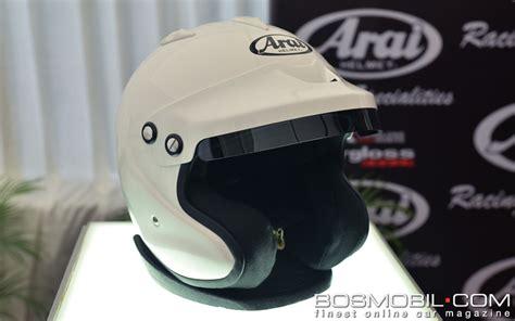 Helm Arai Cargloss cargloss proriders luncurkan helm arai untuk balap mobil
