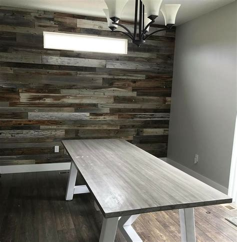 reclaimed wood accent wall how to install a reclaimed barn wood accent wall