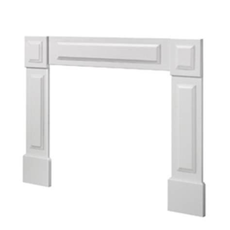 Lowes Fireplace Mantel Kits by Shop Evertrue Transitional Fireplace Surround At Lowes