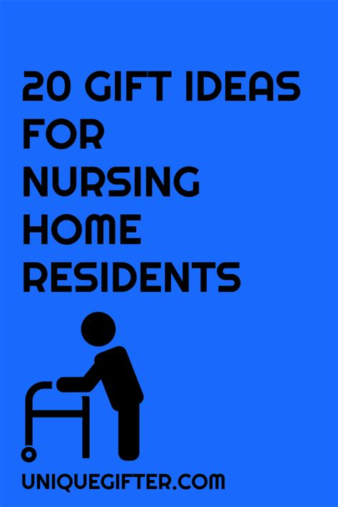 gift for home 20 gift ideas for nursing home residents unique gifter