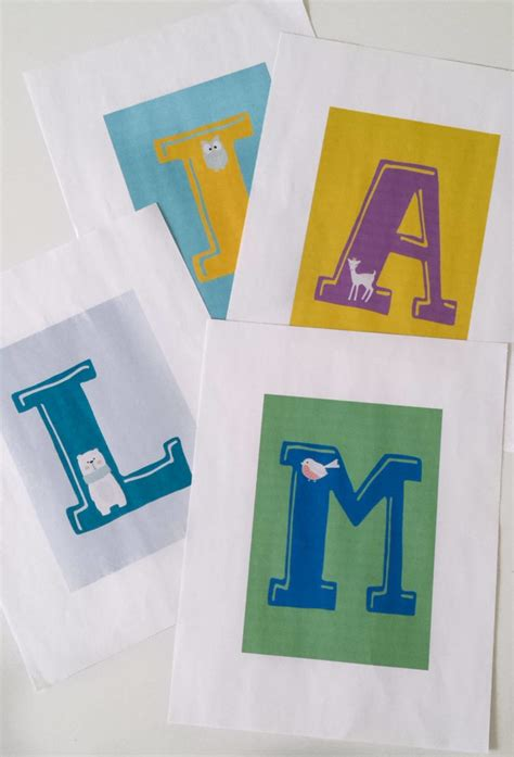 Decorated Letters For Nursery Handpainted And Decorated Decorated Letters For Nursery