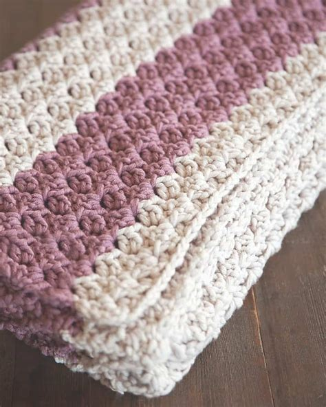 Crochet Baby Blanket Patterns For Beginners by 20 Awesome Crochet Blanket Patterns For Beginners Ideal Me