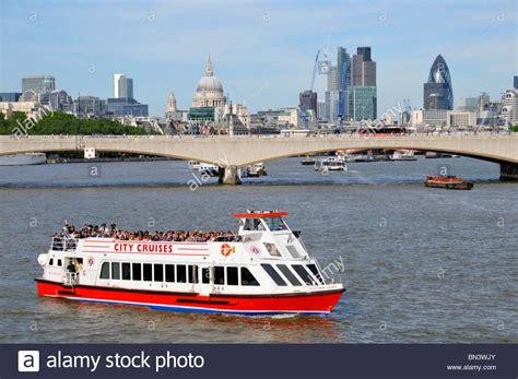 thames river cruise london bridge river thames tour boat waterloo bridge and city of london