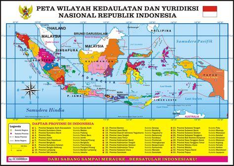 Apakah Ada Nama Pada Map Untuk Melamar Pekerjaan by Peta Wilayah Kedaulatan Dan Yuridiksi Republik Indonesia