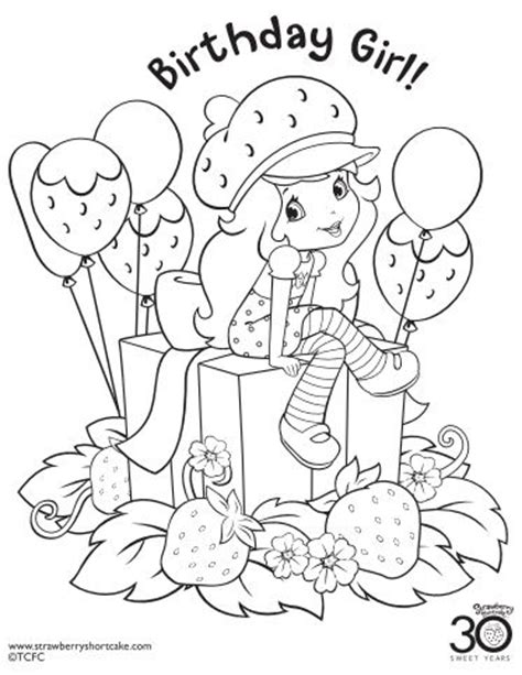 happy birthday sofia coloring pages 12 strawberry shortcake birthday party printable coloring
