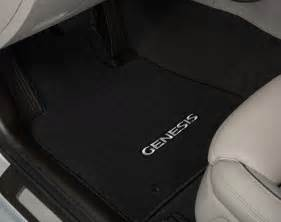 Hyundai Genesis Floor Mats 2015 2016 New Hyundai Genesis Sedan Awd Black Carpet