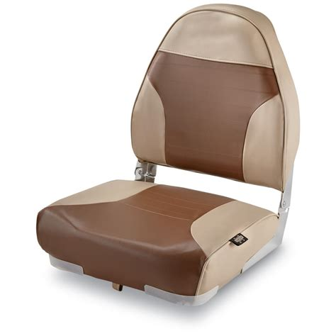 back to back boat seats for sale canada guide gear high back folding boat seat 217024 fold down