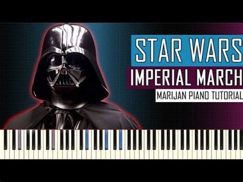 piano tutorial imperial march how to play star wars the imperial march piano