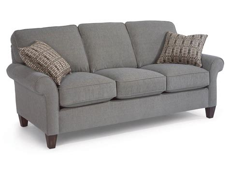 flex steel couches flexsteel living room fabric sofa 5979 30 factory direct