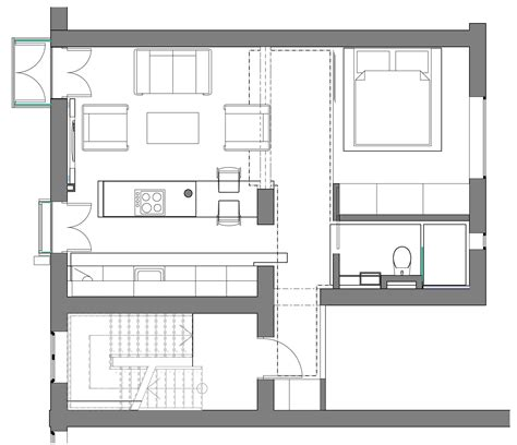 efficient studio layout apartment design layout nurani org