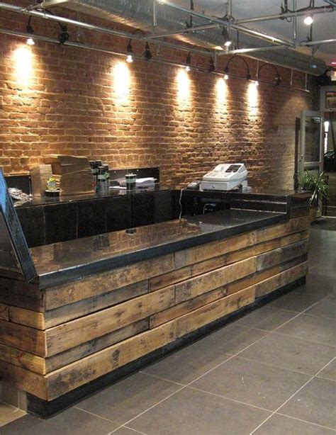 pallet bar top best 25 pallet counter ideas on pinterest bar garage
