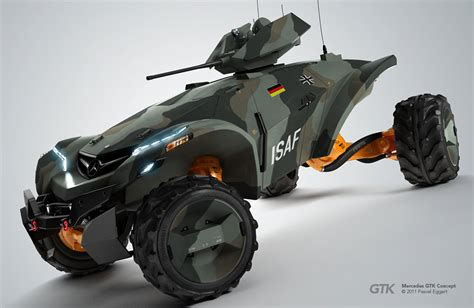 concept armored vehicle concept cars and trucks mercedes gtk vehicle concept by