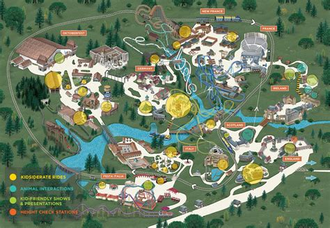 water country usa map places for busch gardens williamsburg water