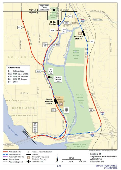 Light Rail Bellevue by Sound Transit East Link Environmental Impact Statement Likely To Be Challenged By Project