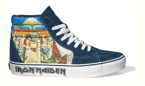 Sepatu Vans Iron Maiden vans iron maiden sk8 hi mzee