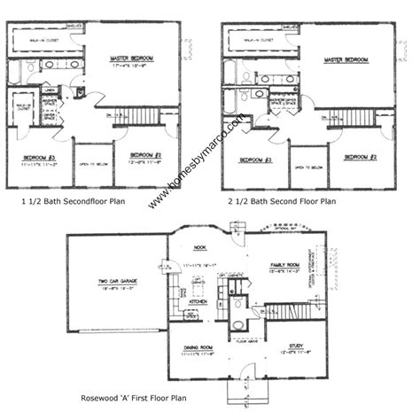 rosewood floor plan rosewood model in the northwood trails subdivision in lake