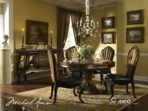 best place to buy dining room set dining room sets buy palace gate round dining room set by aico from www mmfurniture com