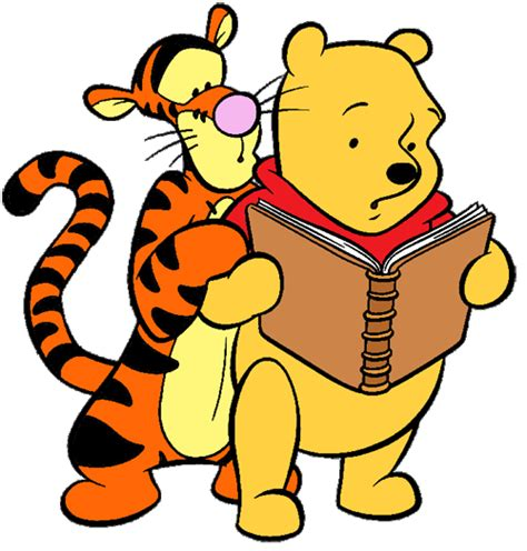 nenapoo goes to school books winnie the pooh friends clip disney clip galore