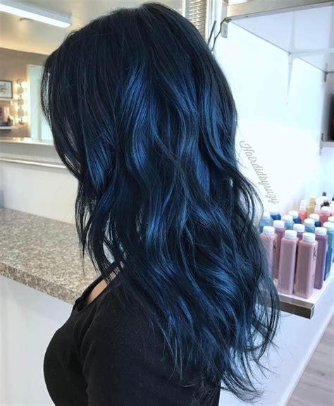 navy hair color navy blue stylist suzy hairdidbysuzy this colour was