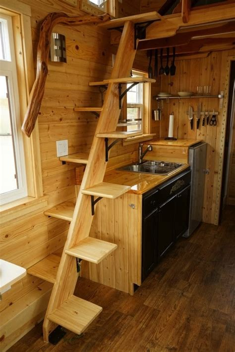 Stunning Detail Throughout This Craftsman Style Tiny Home Dan Louche Tiny House Book