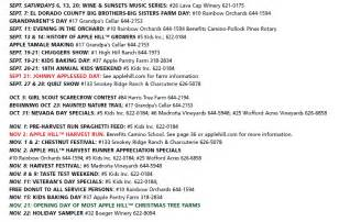 map of apple hill california apple hill el dorado county