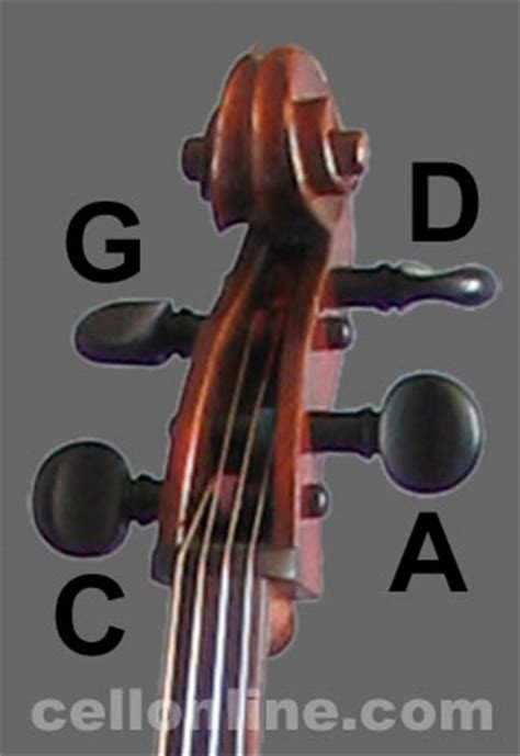 cello changing strings