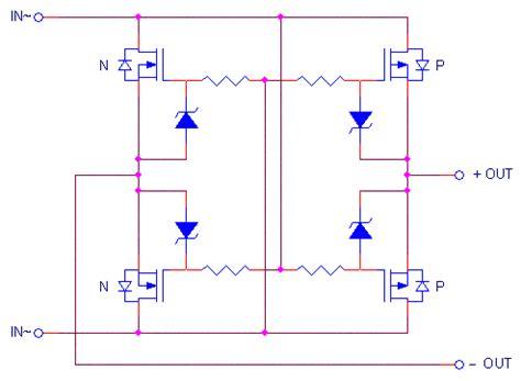 voltage drop across diode bridge design idea recifier bridge