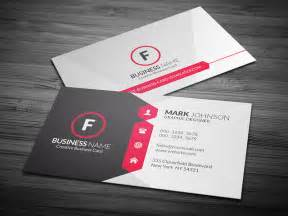 business cards templates free attractive modern corporate business card template
